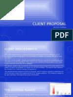 client proposal