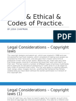 legal   ethical   codes of practice