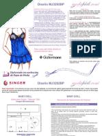 Instrucciones de Costura del Baby Doll o Pijama mj3292bp.pdf