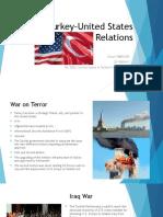 Turkey–United States Relations