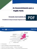 Apresentação - Fernando Aguiar Presidente Regional Firjan