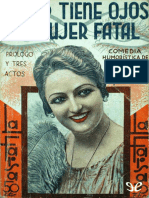 Jardiel Poncela, Enrique - Usted Tiene Ojos de Mujer Fatal