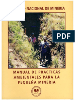 Buenas Prácticas ambientales para la pequeña minería