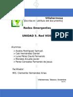 Unidad 5- Voip-redes Emergentes