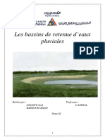 Bassins de Retenue