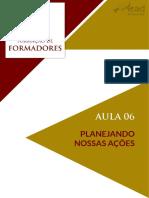 Aula 06 - Caderno de Leitura Formacao de Formadores