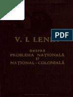 Despre Problema Naţională Şi Naţional-colonială