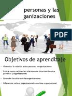 Capitulo 3. Las Organizaciones y Personas