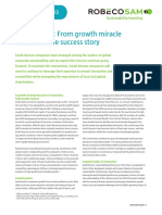 S.korea From Growth Miracle to Sustainable Success Story