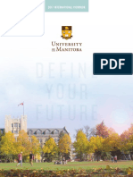 University of Manitoba 2017 International Viewbook