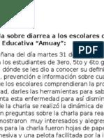 Informe Diarrea.