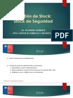 Clase Stock Critico