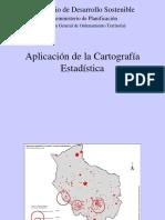Aplicación de La Cartografía Estadística