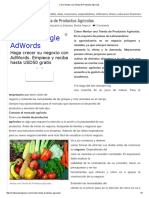 Cómo Montar Una Tienda de Productos Agricolas