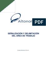 An-SP-SSS-0003 Señalización y Delimitación Del Área de Trabajo