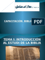 Clase 1, Biblia