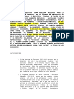 Convenio de Coordinación Para Realizar Acciones Para La Gestión Integralde Residuos en El Estado de Iviichoacán de Ocai