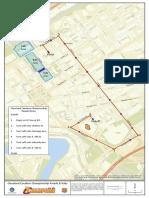 Cavs Parade Rally Map