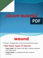 Closure Material