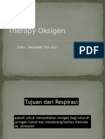Therapy O2 ICU New