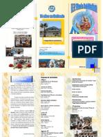 programa de actividades 2010