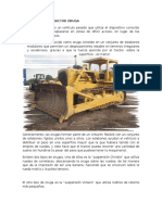 Descripcion de Tractor Oruga