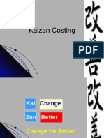 Kaizen costing