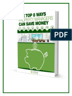 Top 8 Ways Property Managers Can Save Money - Whitepaper