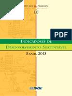 Indicadores de Desenvolvimento Sustentável Brasil IBGE