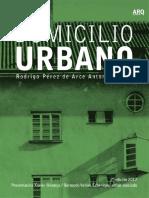 Domicilio Urbano Presentacion Xavier Monteys