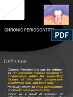 periodontitis chronic