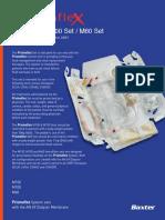 Prismaflex M Series Spec Sheet