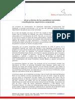 Caracteristicas y Efectos de Las Asambleas Nacionales Constituyentes Experiencia Comparada v2