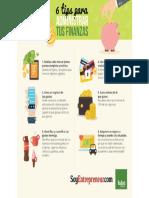 Ismael Plascencia brinda tips para administrar tus finanzas