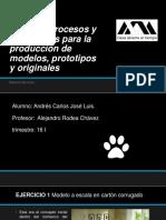 Taller de Procesos y Tecnologías Para La Producción