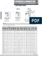 Variable spring support PT&P catalog