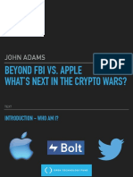 KEYNOTE 1 - John Adams - Beyond FBI v Apple