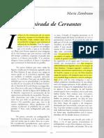 La Mirada de Cervantes