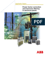 34 Power Factor Correction and Harmonic Filtering in Electrical Plants