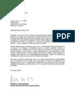 Carta Oneida Pinto