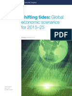 Shifting Tides Global Economic Scenarios for 201525
