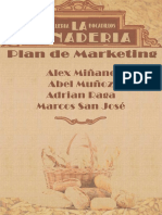 Plan de Marketing de LA PANADERIA