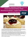 Sponsorship Form - Cream Tea Party