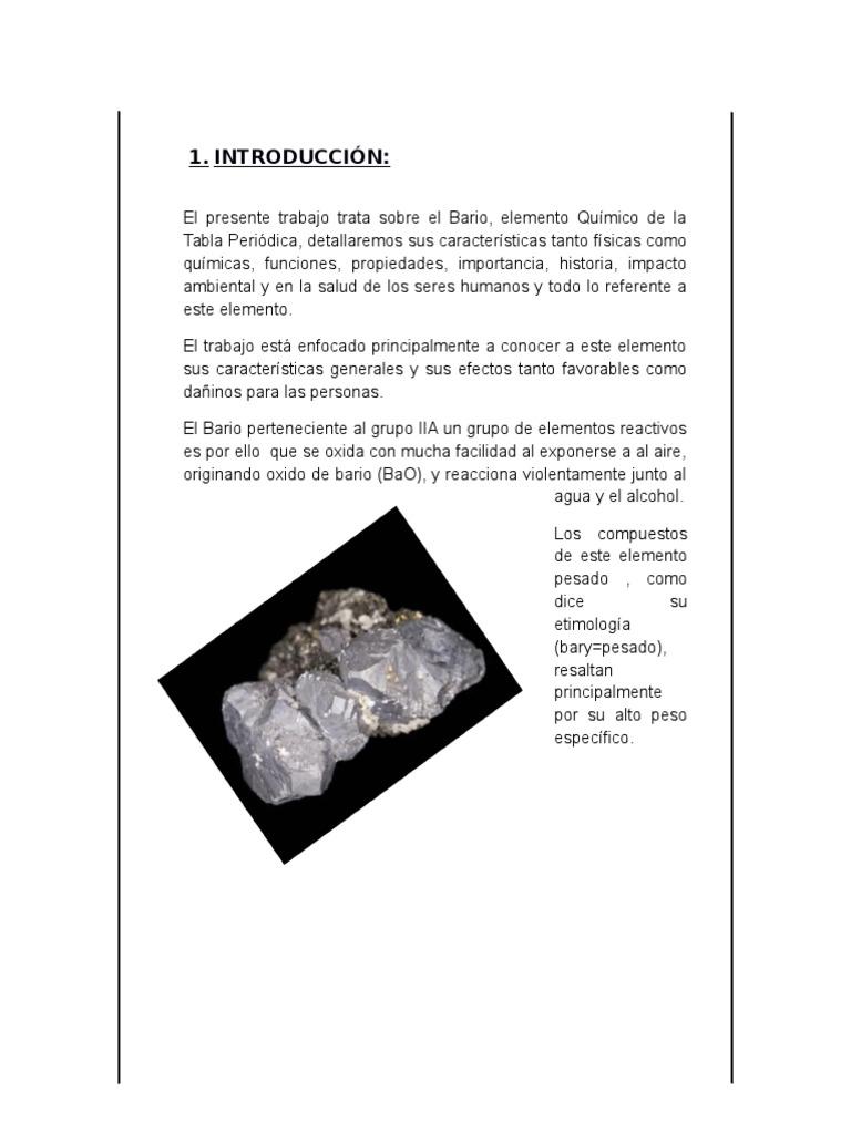 Elemento qumico bario urtaz Image collections