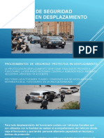 Protocolo de Seguridad en Desplazamiento