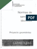 NORMAS DE SERVICIOS TÉCNICOS SCT