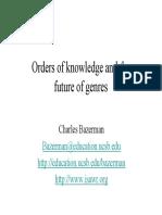 CharlesBazerman - Futuro Dos Gêneros