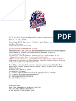 AAU Region 16 Qualifier Info