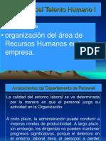 Organiz Depart de Personal