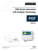 2500 Series Instrument w Intalogix Tech